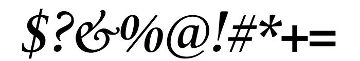 Le Monde Livre Std Demi Italic Font OTHER CHARS