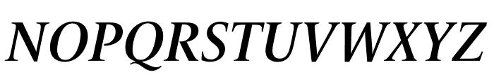 Le Monde Livre Std Demi Italic Font UPPERCASE