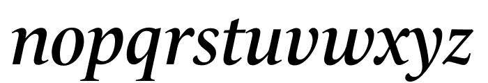 Le Monde Livre Std Demi Italic Font LOWERCASE