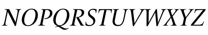 Le Monde Livre Std Italic Font UPPERCASE