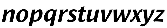 Le Monde Sans Std Bold Italic Font LOWERCASE