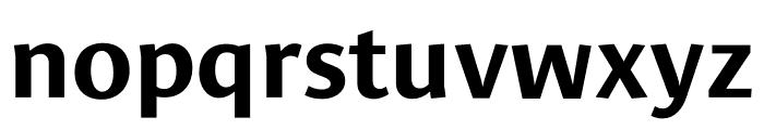 Le Monde Sans Std Bold Font LOWERCASE