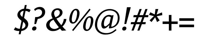 Le Monde Sans Std Book Italic Font OTHER CHARS