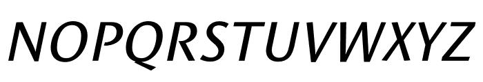 Le Monde Sans Std Book Italic Font UPPERCASE