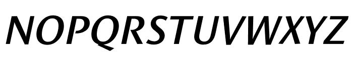 Le Monde Sans Std Demi Italic Font UPPERCASE