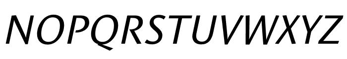 Le Monde Sans Std Italic Font UPPERCASE