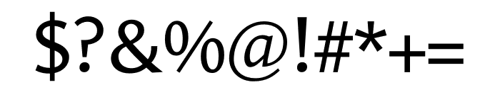 Le Monde Sans Std Regular Font OTHER CHARS
