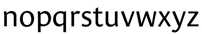 Le Monde Sans Std Regular Font LOWERCASE