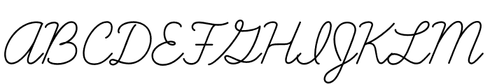 Learning Curve Dashed Regular Font UPPERCASE