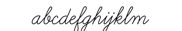 Learning Curve Dashed Regular Font LOWERCASE