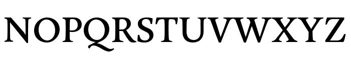 Legitima Regular Font UPPERCASE