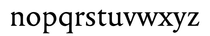 Legitima Regular Font LOWERCASE