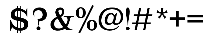 Lehmann Regular Font OTHER CHARS