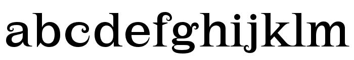 Lehmann Regular Font LOWERCASE