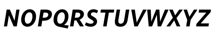 Lemance Bold Italic Font UPPERCASE