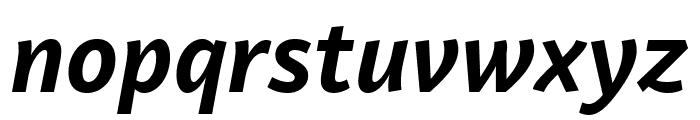 Lemance Bold Italic Font LOWERCASE