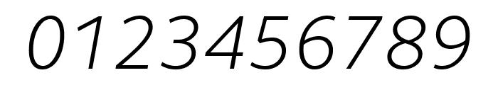 Lemance Light Italic Font OTHER CHARS