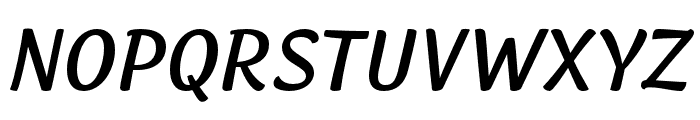 Lemongrass Caps Regular Italic Font UPPERCASE