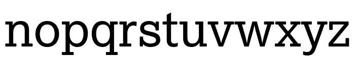 Lexia Advertising Font LOWERCASE