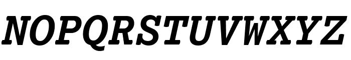 Lexia Mono Bold Italic Font UPPERCASE