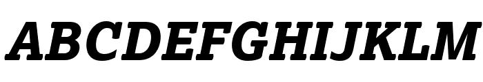 Lexia XBold Italic Font UPPERCASE
