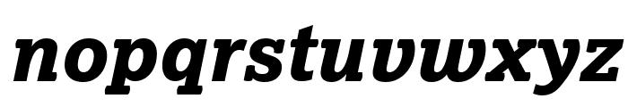 Lexia XBold Italic Font LOWERCASE