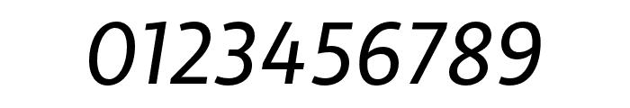 Libertad Regular Italic Font OTHER CHARS