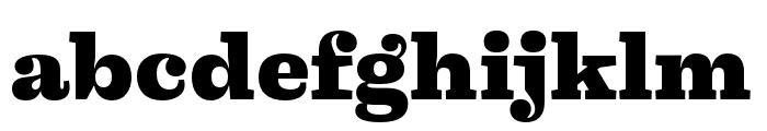 Liberteen Black Font LOWERCASE