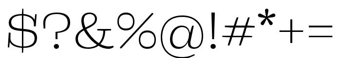 Liberteen Light Font OTHER CHARS