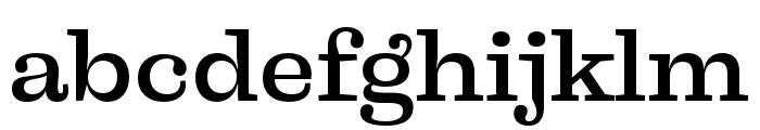 Liberteen Medium Font LOWERCASE