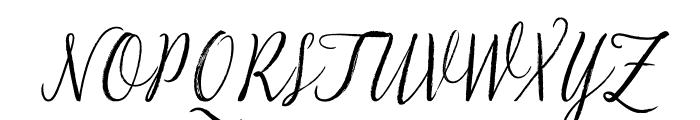 LiebeGerda Regular Italic Font UPPERCASE