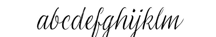 LiebeGerda Regular Italic Font LOWERCASE