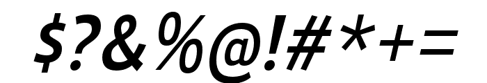 Ligurino Regular Italic Font OTHER CHARS