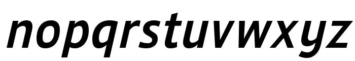Ligurino Regular Italic Font LOWERCASE