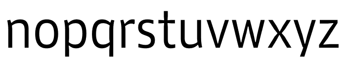 Lipa Agate Low Cnd Regular Font LOWERCASE