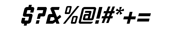 Liquorstore Jazz Italic Font OTHER CHARS