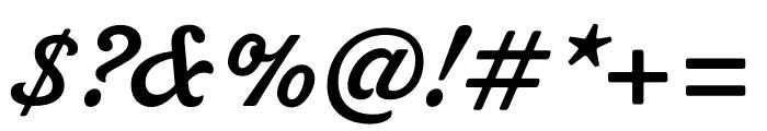 Livermore Script ATF Regular Font OTHER CHARS
