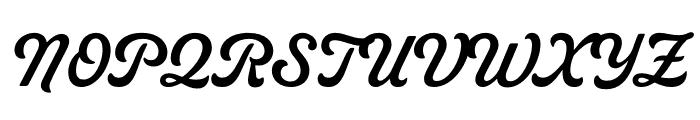 Livermore Script ATF Regular Font UPPERCASE