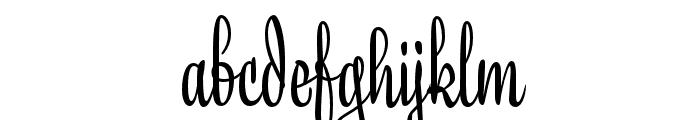 Liza Display Pro Regular Font LOWERCASE