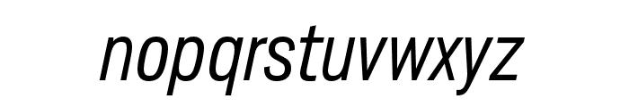 Lorimer No 2 Light Italic Font LOWERCASE