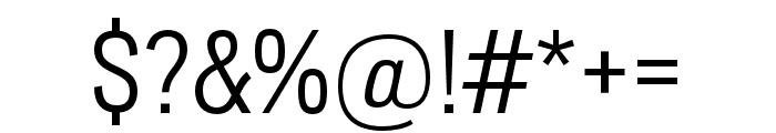 Lorimer No 2 Light Font OTHER CHARS
