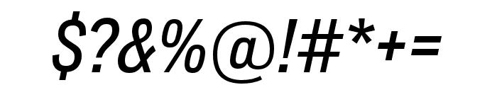 Lorimer No 2 Medium Italic Font OTHER CHARS