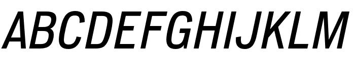 Lorimer No 2 Medium Italic Font UPPERCASE