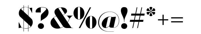 Louvette Banner Black Font OTHER CHARS