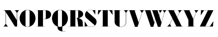 Louvette Banner Black Font UPPERCASE