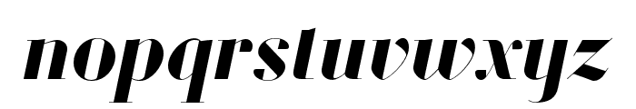 Louvette Banner Bold Italic Font LOWERCASE