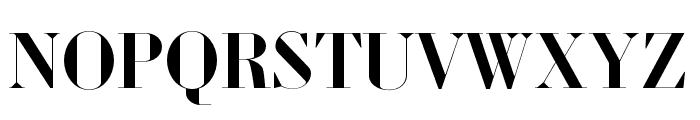 Louvette Banner Semi Bold Font UPPERCASE