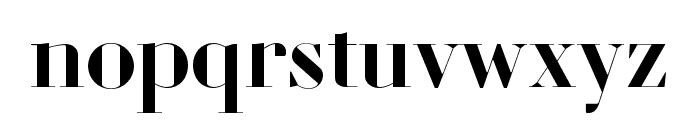 Louvette Banner Semi Bold Font LOWERCASE