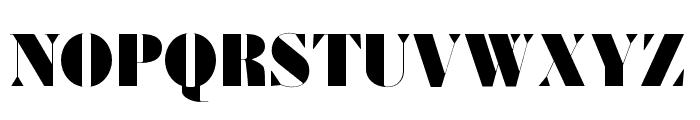 Louvette Banner Ultra Font UPPERCASE