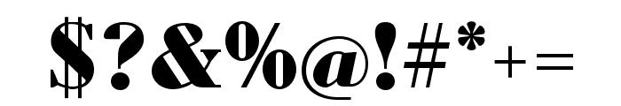 Louvette Deck Black Font OTHER CHARS